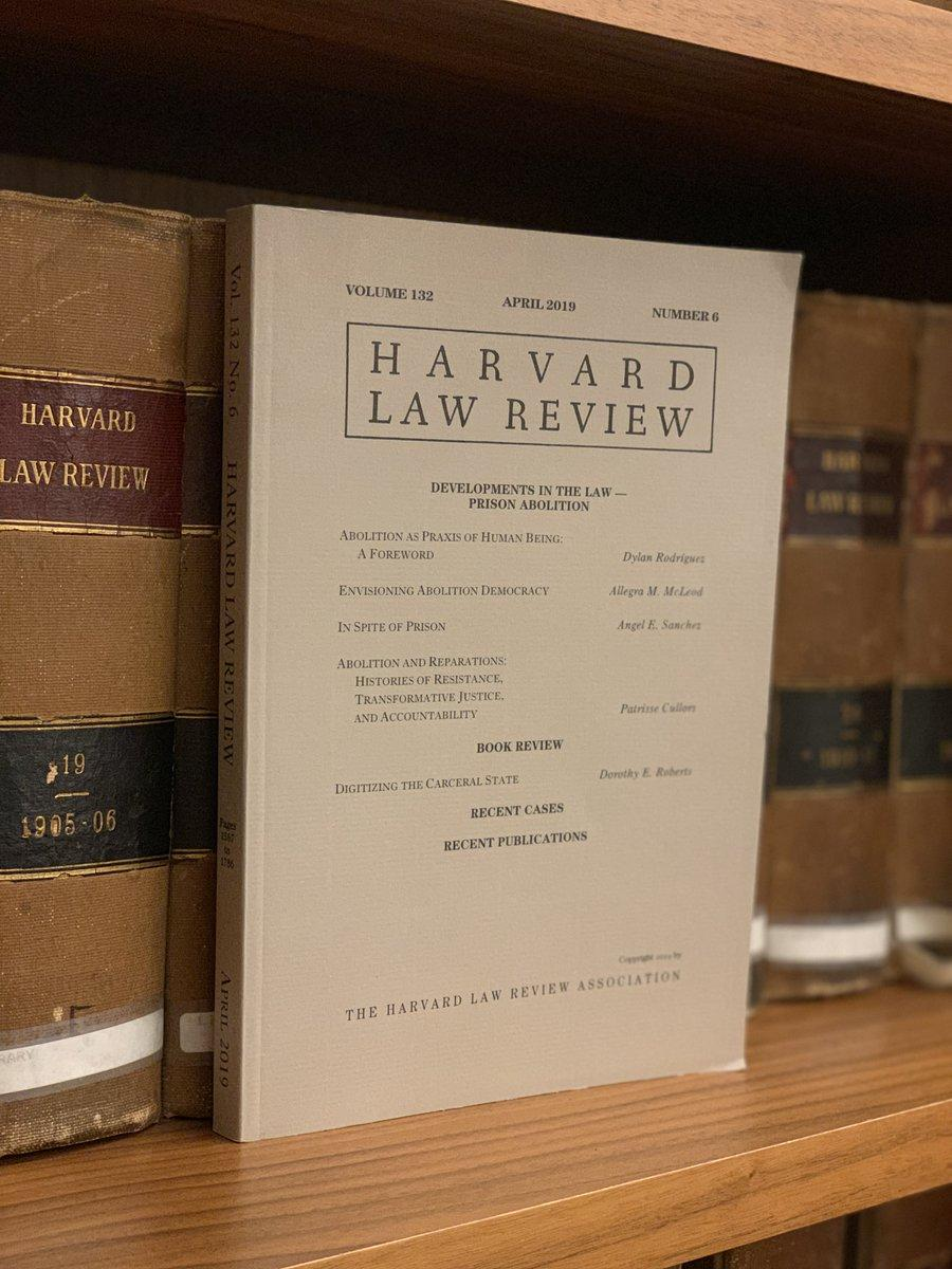 Harvard Law Review's...